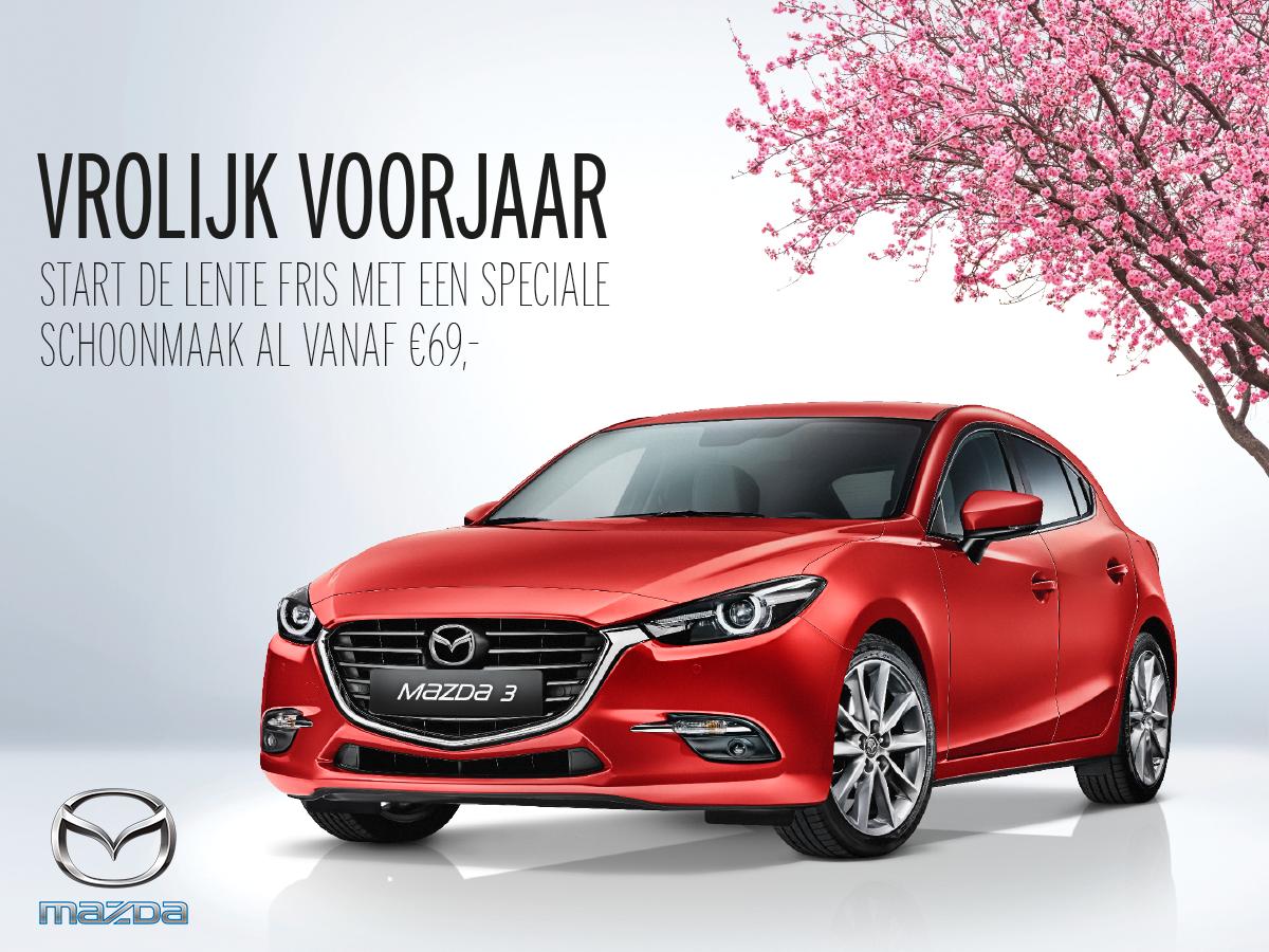 Mazda voorjaar